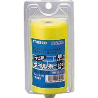 【CAINZ DASH】TRUSCO 蛍光水糸 プロ用タイル糸VR 細0.6mm 1000m巻