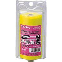 【CAINZ DASH】TRUSCO 蛍光水糸 プロ用タイル糸VR 太0.8mm 500m巻