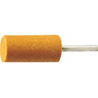 【CAINZ DASH】TRUSCO 軸付砥石WA 円筒型 Φ25X幅38X軸6 #60 5本入