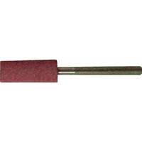 【CAINZ DASH】TRUSCO 高耐久ゴム軸付砥石 Φ4X幅13X軸3 #80 10本入