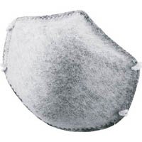 【CAINZ DASH】TRUSCO 一般作業用マスク 活性炭入  (20枚入)