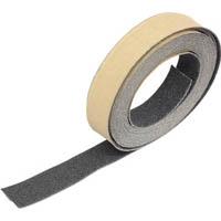 【CAINZ DASH】TRUSCO ノンスリップテープ 屋外用 25mmX5m 黒