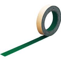 【CAINZ DASH】TRUSCO ノンスリップテープ 屋外用 25mmX5m 緑