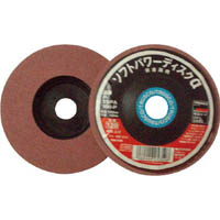 【CAINZ DASH】TRUSCO ソフトパワーディスクα 非金属用 Φ100 5個入 120#