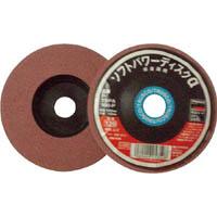 【CAINZ DASH】TRUSCO ソフトパワーディスクα 非金属用 Φ100 5個入 400#