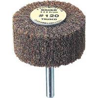 【CAINZ DASH】TRUSCO ナイロン軸付ホイール 外径100X厚25X軸6 120♯(5個入)