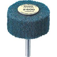 【CAINZ DASH】TRUSCO ナイロン軸付ホイール 外径80X厚25X軸6 600♯ (5個入)