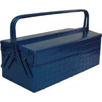 【CAINZ DASH】TRUSCO 2段式工具箱 472X220X289 ブルー