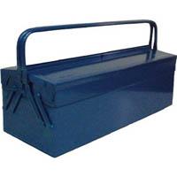 【CAINZ DASH】TRUSCO 2段式工具箱 600X220X305 ブルー