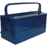 【CAINZ DASH】TRUSCO 3段式工具箱 472X220X343 ブルー
