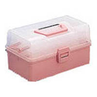 【CAINZ DASH】TRUSCO ホームケース 321X195X165 ピンク