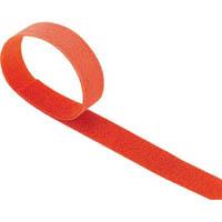 【CAINZ DASH】TRUSCO マジックバンド結束テープ 両面 幅20mmX長さ30m オレンジ