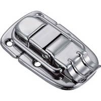 【CAINZ DASH】TRUSCO パッチン錠 横ズレ防止タイプ・スチール製 (4個入)
