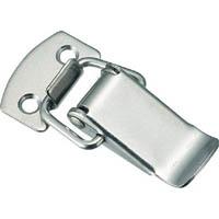 【CAINZ DASH】TRUSCO パッチン錠 標準タイプ・ステンレス製 (4個入)