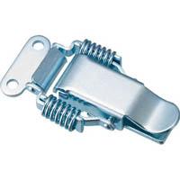【CAINZ DASH】TRUSCO パッチン錠 ばねタイプ・スチール製 (2個入)
