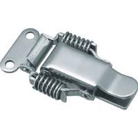 【CAINZ DASH】TRUSCO パッチン錠 ばねタイプ・ステンレス製 (2個入)