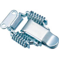 【CAINZ DASH】TRUSCO パッチン錠 ばねタイプ・スチール製 (4個入)