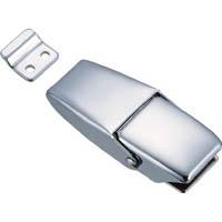 【CAINZ DASH】TRUSCO パッチン錠 ラッチタイプ・スチール製 (2個入)