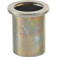 【CAINZ DASH】TRUSCO クリンプナット平頭スチール 板厚1.5 M4X0.7 (39個入)