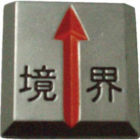 【CAINZ DASH】TRUSCO クリアーライン 埋込式 (3枚入)