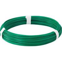 【CAINZ DASH】TRUSCO カラー針金 ビニール被覆タイプ グリーン 線径1.2mm