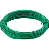 【CAINZ DASH】TRUSCO カラー針金 小巻タイプ・20番手 緑 線径0.9mm