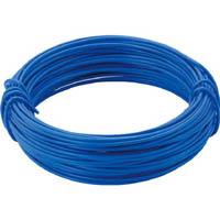 【CAINZ DASH】TRUSCO カラー針金 小巻タイプ・18番手 青 線径1.2mm