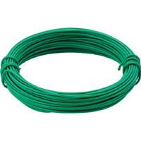 【CAINZ DASH】TRUSCO カラー針金 小巻タイプ・18番手 緑 線径1.2mm