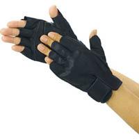 TRUSCO 防振防滑手袋 ハーフフィンガー Lサイズ TPG855L