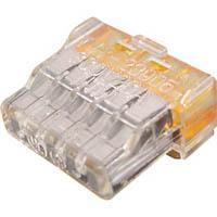 【CAINZ DASH】TRUSCO 差込形電線コネクタ極数5 (7個入)