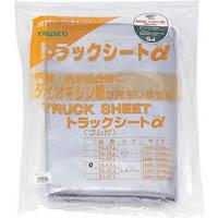 【CAINZ DASH】TRUSCO トラックシートα 2t用 幅2300mmX長さ3.6m 銀