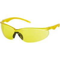 【CAINZ DASH】TRUSCO 二眼型セーフティグラス ソフトテンプルタイプ レンズイエロー