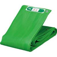 【CAINZ DASH】TRUSCO ソフトメッシュシートα 幅1.8mX長さ3.4m 緑