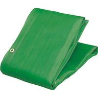 【CAINZ DASH】TRUSCO ソフトメッシュシートα 幅1.8mX長さ5.1m 緑