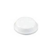 【CAINZ DASH】光 ウレタンクッション12.7mm丸×3.8mm白 (100個入)