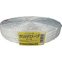 【CAINZ DASH】ツカサ PP融着三本撚ロープ(ツカサロープ)Y−4