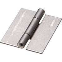 【CAINZ DASH】TRUSCO スチール製薄口溶接蝶番 全長25.5mm (10個入)