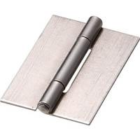 【CAINZ DASH】TRUSCO スチール製薄口溶接蝶番 全長31.5mm (10個入)