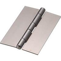 【CAINZ DASH】TRUSCO スチール製厚口溶接蝶番 全長101mm (4個入)