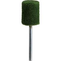 【CAINZ DASH】TRUSCO フェルトミニホイール 平型 Φ15 研磨用 緑色  (10個入)