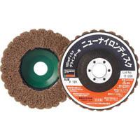 【CAINZ DASH】TRUSCO ニューナイロンディスク Φ95穴径16mm 120#  (5個入)