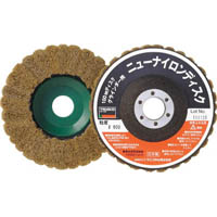 【CAINZ DASH】TRUSCO ニューナイロンディスク Φ95穴径16mm 600#  (5個入)