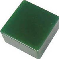 【CAINZ DASH】エクシール 防振・緩衝ブロック ゲルダンパー 緑 50X50mm