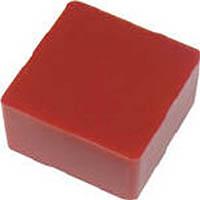 【CAINZ DASH】エクシール 防振・緩衝ブロック ゲルダンパー 赤 50X50mm