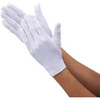 【CAINZ DASH】TRUSCO 品質管理用スムス手袋マチ無L寸 エコノミータイプ