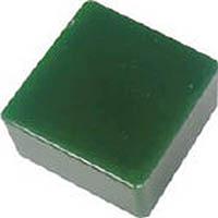 【CAINZ DASH】エクシール 防振・緩衝ブロック ゲルダンパー 緑 100X100mm