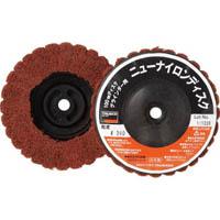 【CAINZ DASH】TRUSCO ニューナイロンディスク Φ95XM10 320#  (5個入)