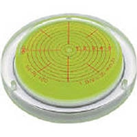 【CAINZ DASH】KOD 取付穴付角度計付丸台型アイベル水平器