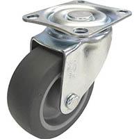 【CAINZ DASH】ユーエイ キャスター自在車 65径エラストマー車輪