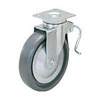 【CAINZ PRO】スガツネ工業 重量用キャスター径152自在ブレーキ付SE(200ー012ー447 SUGT406BPSE
